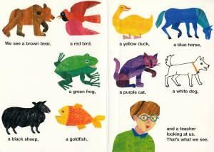 brown bear last page