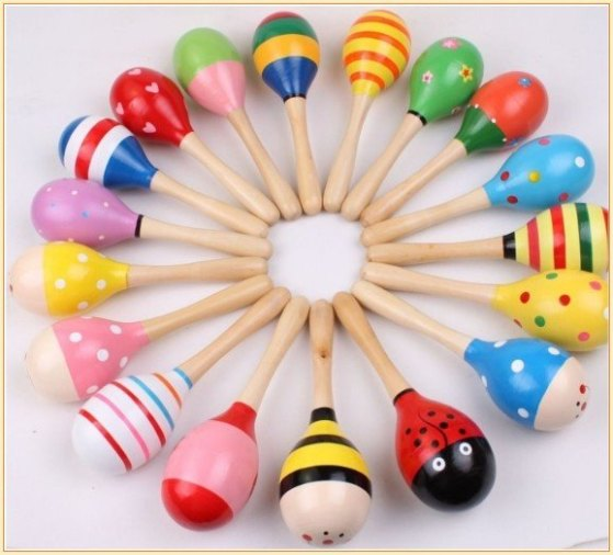 Wooden-Maraca-Rattles-Kid-font-b-Music-b-font-Party-Favor-Child-Baby-font-b-Shaker
